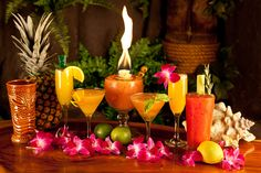 hawaii cocktails